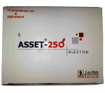 Asset 250 mg (10 amps)