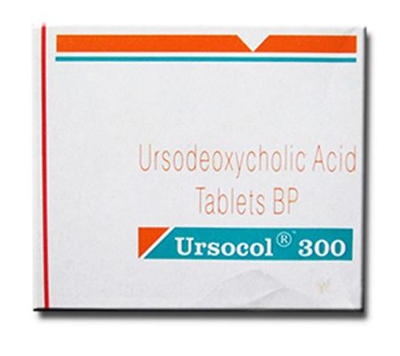 Ursocol (UDCA) 300 mg (10 pills)